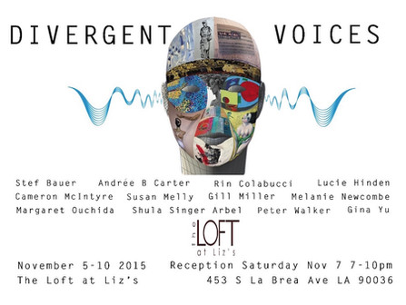 Divergent Voices / Participating Artist, Lucie Hinden