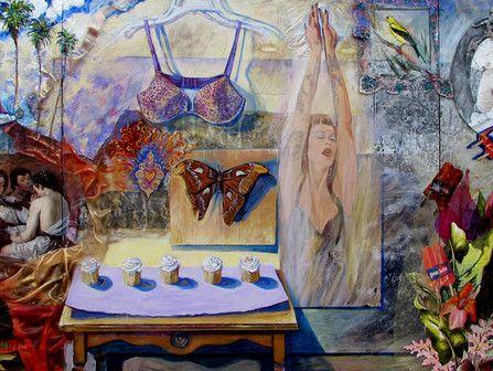 Leslie A. Brown, an artist who explores the fertile world of the archetype.