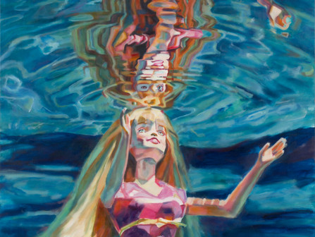 Daena Title, an Artist Obsessed With What it is to be Female. Drowning the Barbie