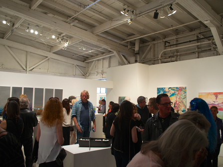Highlights of the Water-Line Exhibition Opening Reception
