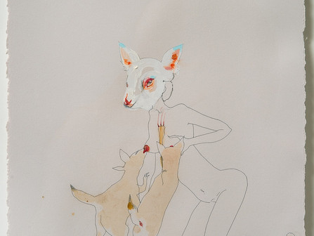 Peregrine Honig, is an artist who renders the progress of innocence into awareness...