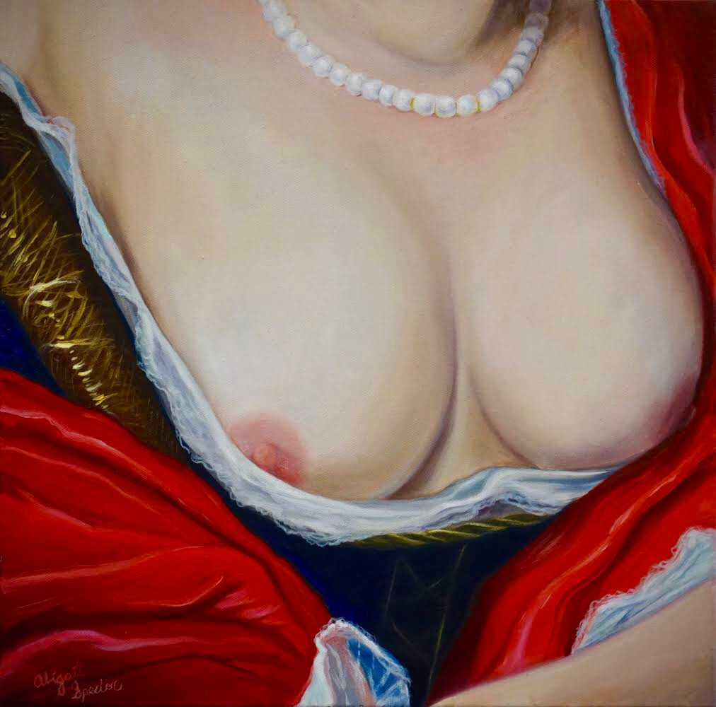 Spector_Abigail_Pearl Necklace_Oil on Canvas_1.jpg