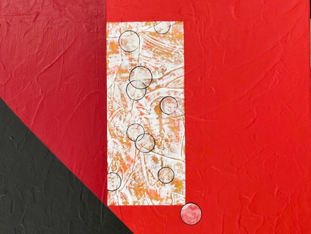 Introducing the artwork of Launa D. Romoff, a mixed media and collage artist.