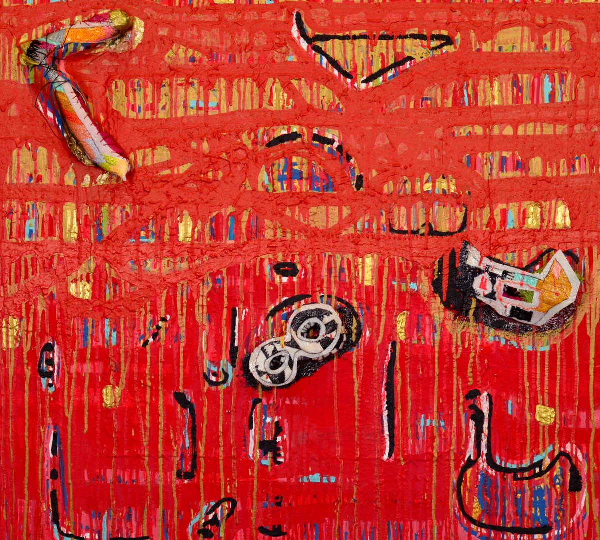 Carter_Andree_Hush Hush Red_acrylic, oil, needlepoint on canvas_2.jpg