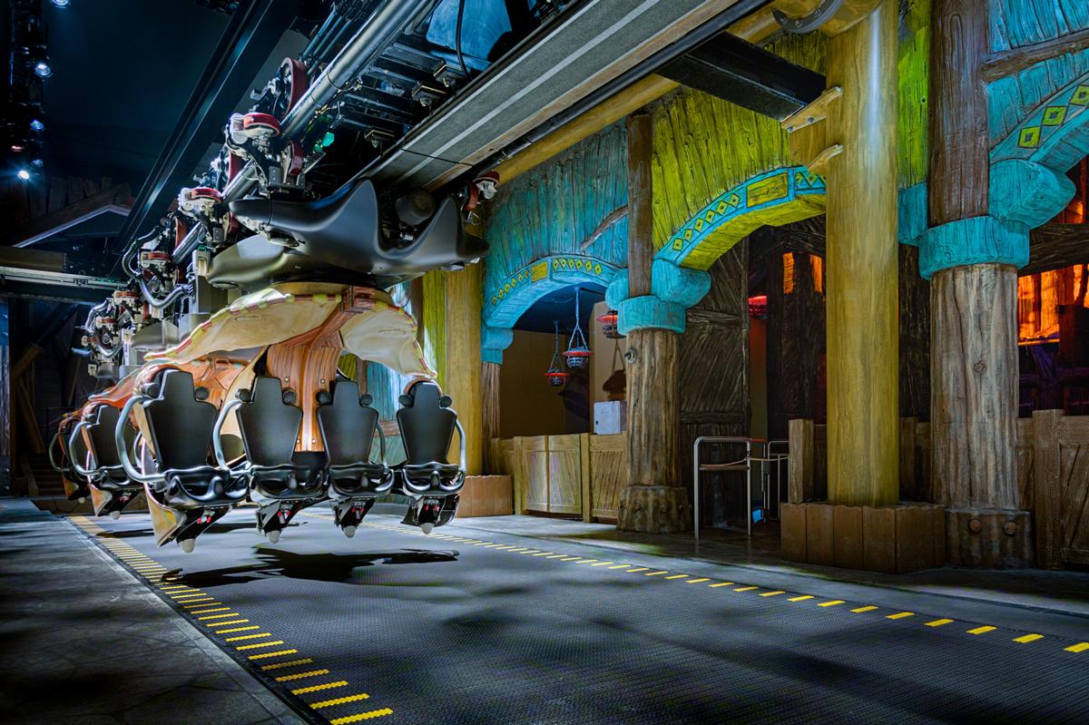 Dragon Gliders ride