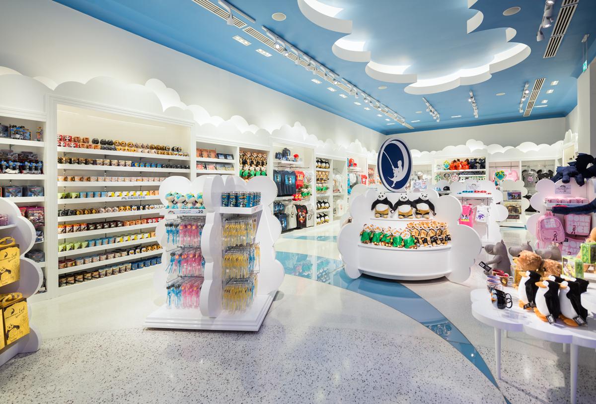 DreamWorks Flagship Stores