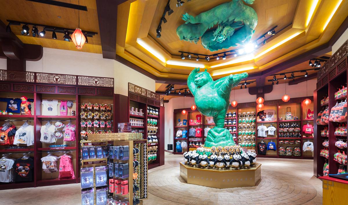 Kung Fu Panda Retail