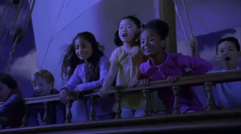 It's A Small World, Holiday Commercial