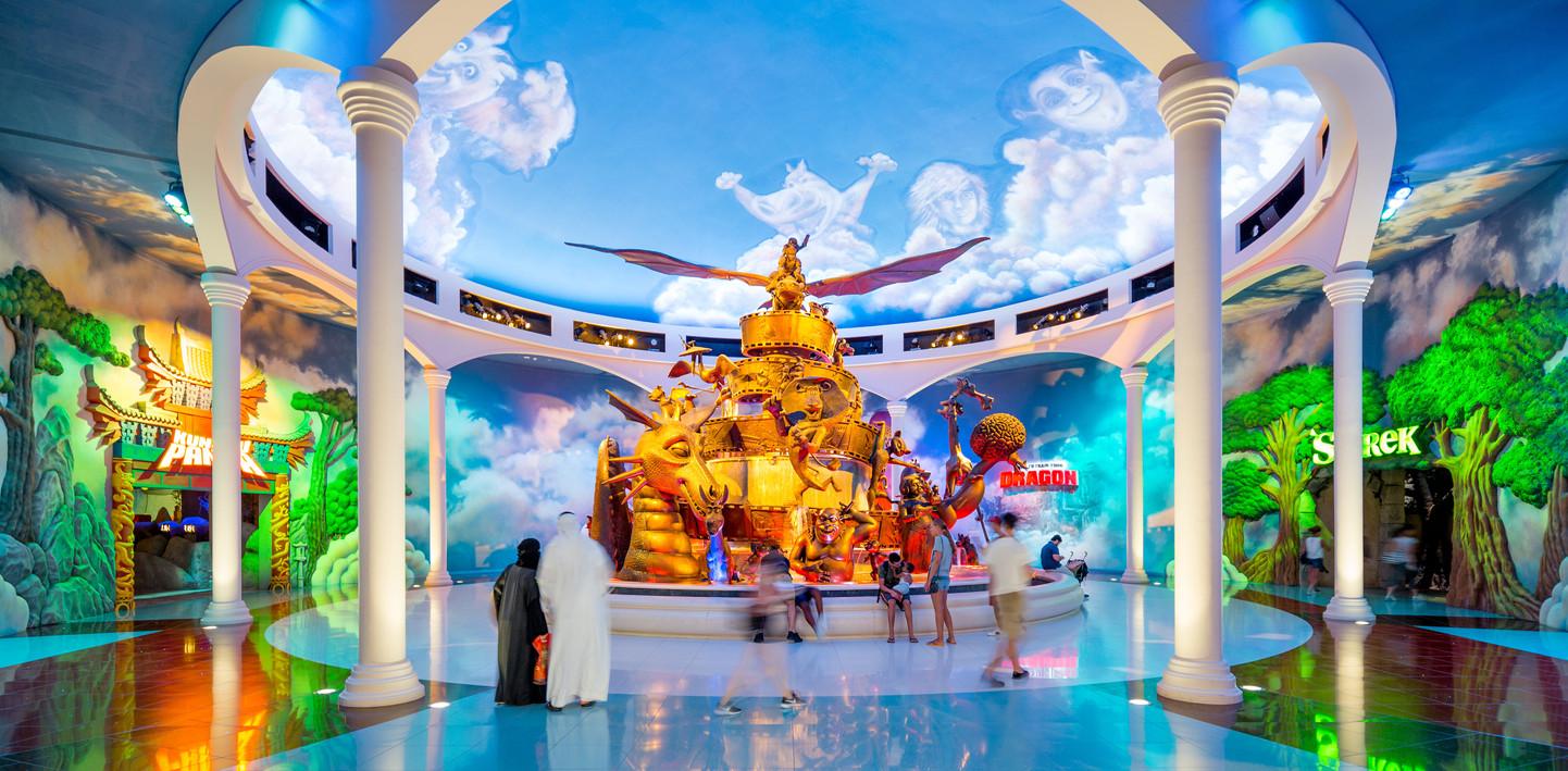 DreamWorks Fountain Of Dreams