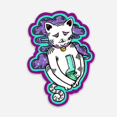 Bong Cat Sticker