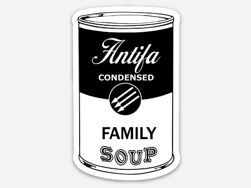 Soup For My Family Sticker