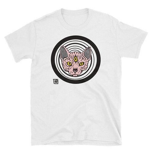 3 Eyed Hypno Cat Tee