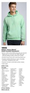 Gildan 18500