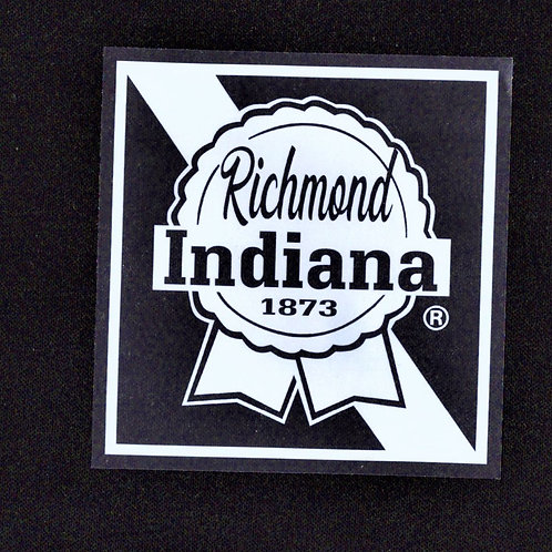 Indiana Clear Sticker