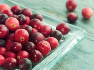 DIY Cranberry Face Mask
