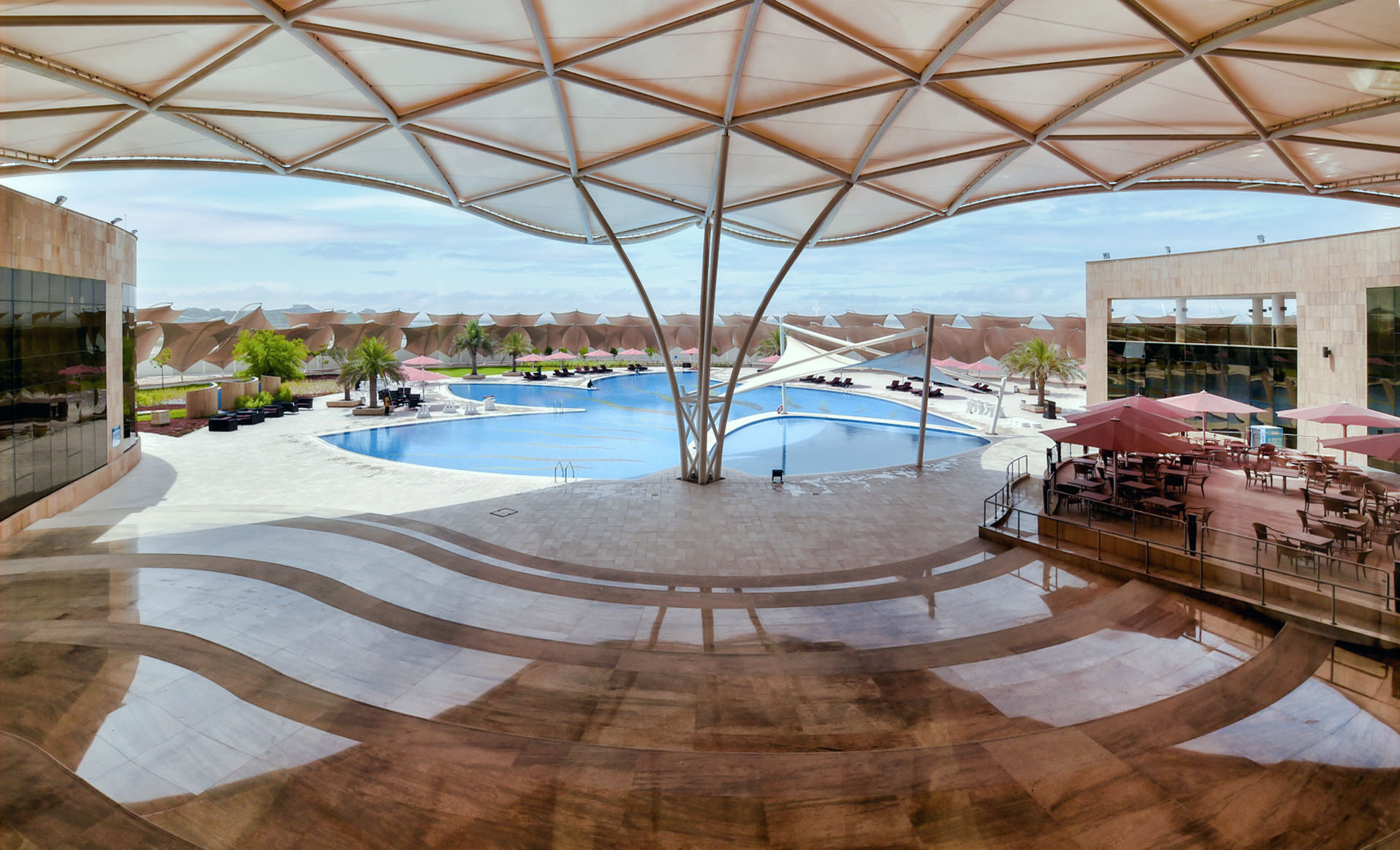 Abu Dhabi Ladies Club External Pool 3