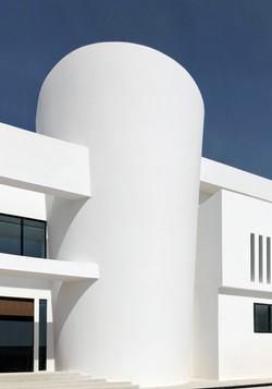 Villa Abu Dhabi  conic stair Feb 2018