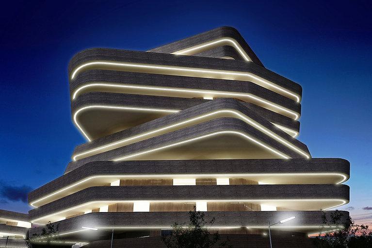 Amman Mixed Use night by UPA Italia.jpg