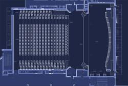 Auditorium of Vgik plan