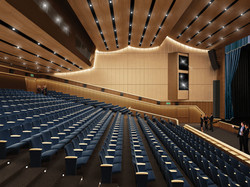 Rendering of Auditorium