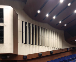 Photo of Auditorium with open panels