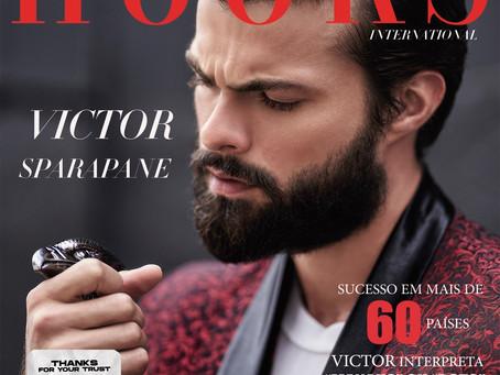 Victor Sparapane em capa e entrevista exclusiva para a Hooks Magazine