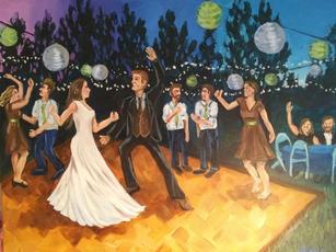 Reception Painting
