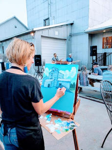 Live Concert Painting