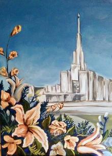 Denver Temple Painting