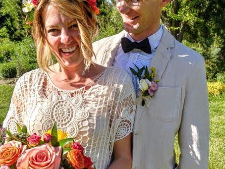 Lyssa got married!