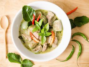 Recept: Thaise groene currysoep