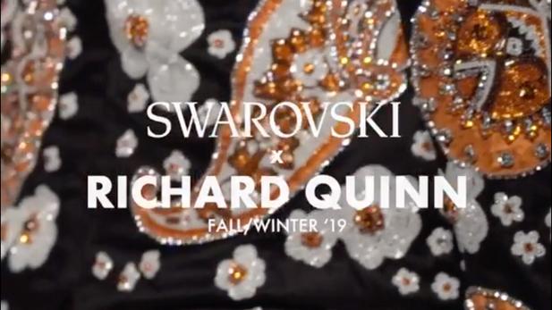 (FASHION) Swarovski X Richard Quinn FW18/19