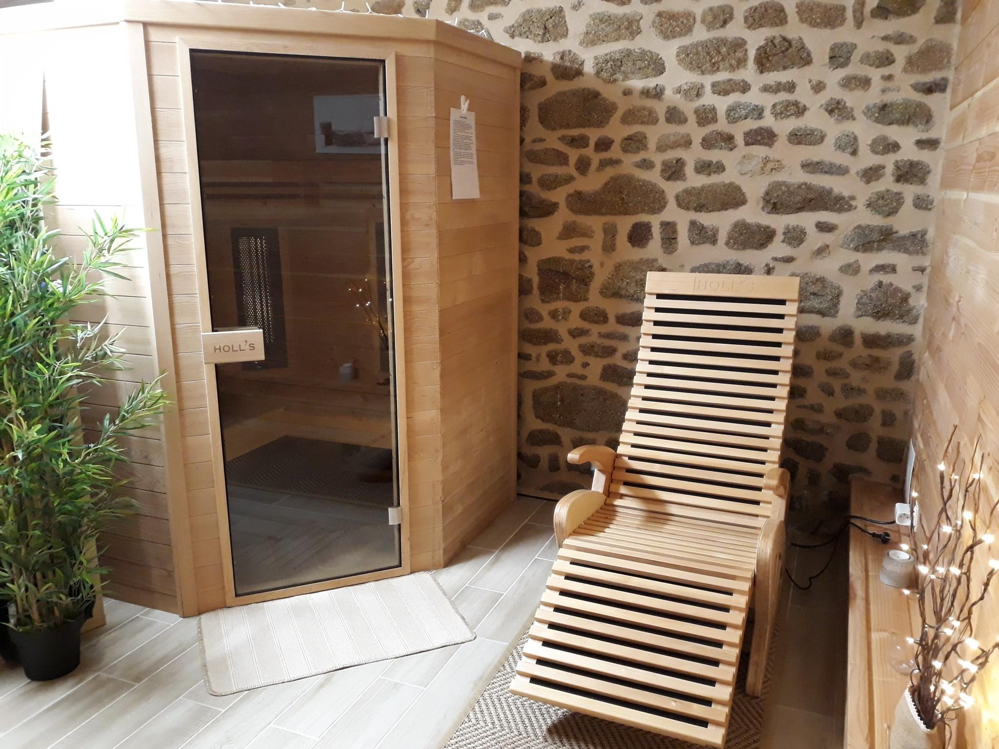 Sauna infrarouge - Fauteuil sauna