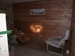 Fauteuil sauna