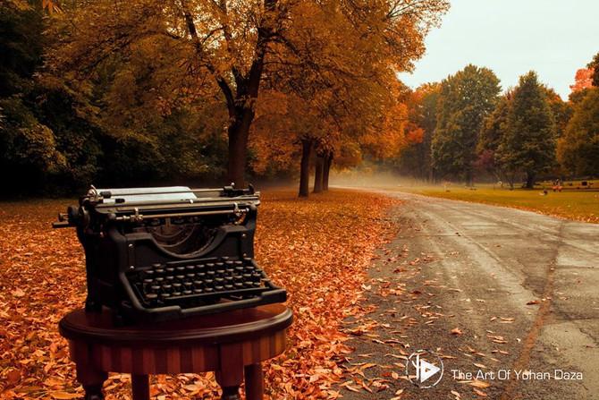 The Typewriter Series part 1 - La Serie de la maquina de escribir.