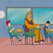 Bigfoot's classroom