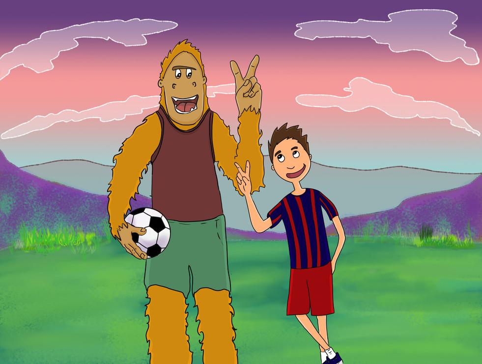 Bigfoot children book