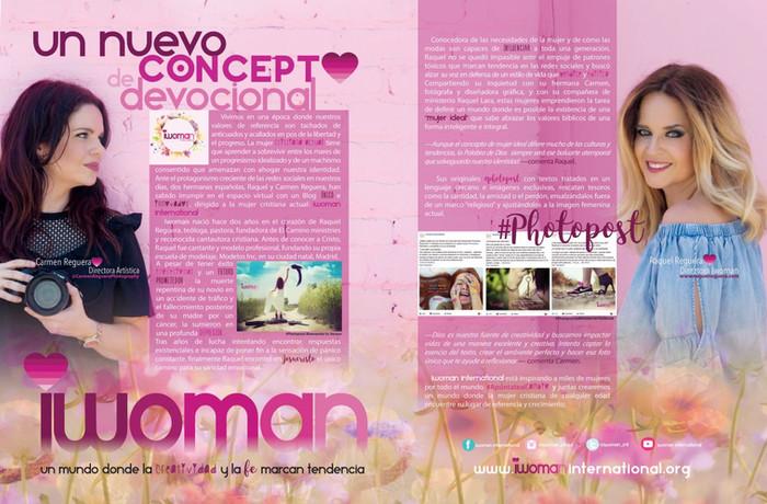 """Reportaje Revista """"Eva magazine"""""""