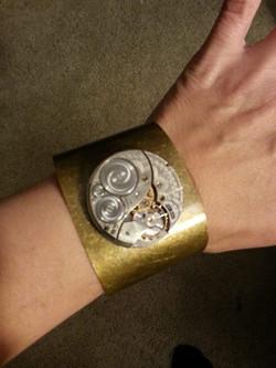 Pocket Watch Movement Cuff