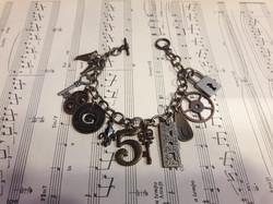 "Steampunk Charm Bracelet ""5"""