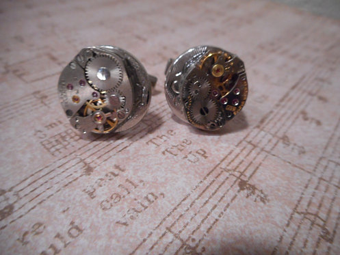 Steampunk Cuff Links