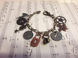 """Steampunk Bracelet """"TK"""""""
