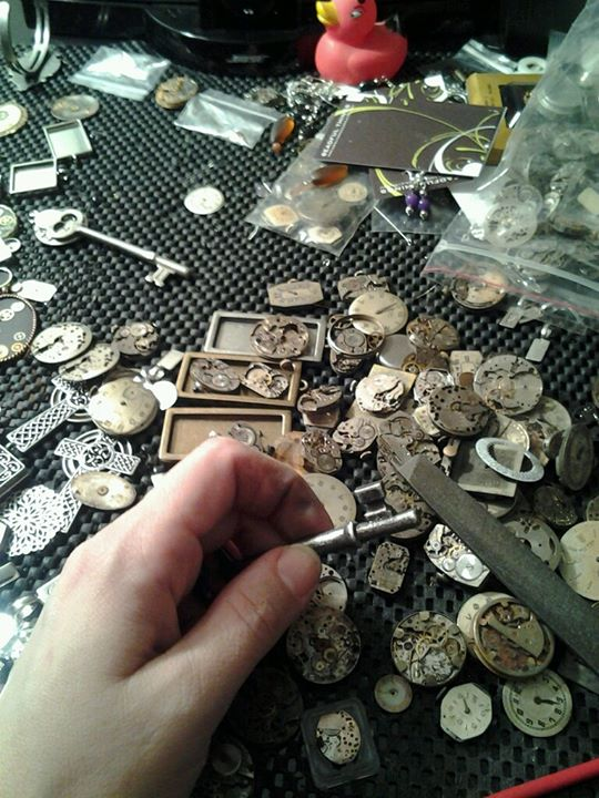The Life of a Steampunk Jeweler!