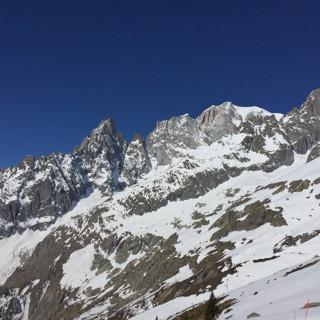 La splendida vetta del Monte Bianco