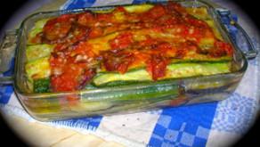 Parmigiana di melanzane e zucchine