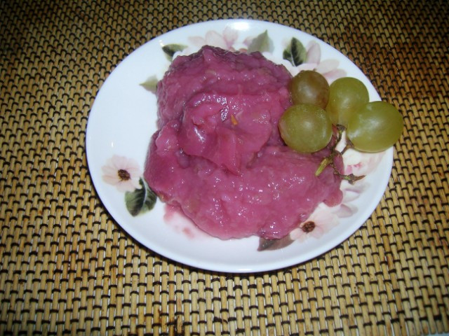 Tipica ricetta padana nella stagione della vendemmia