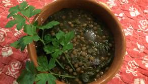 Zuppa di Lenticchie e Spinaci ... (o Bietole)