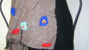 Le sciarpe con le margherite