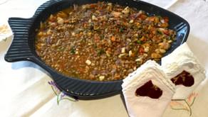 Zuppa di Pesce con lenticchia