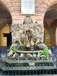 Alla scoperta di Interamnia ... La fontana dei due Leoni.